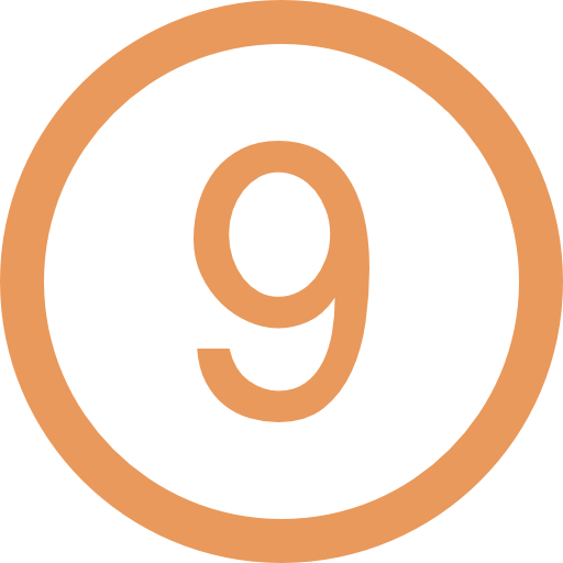 number-nine-in-a-circle