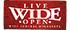 Live Wide Open logo